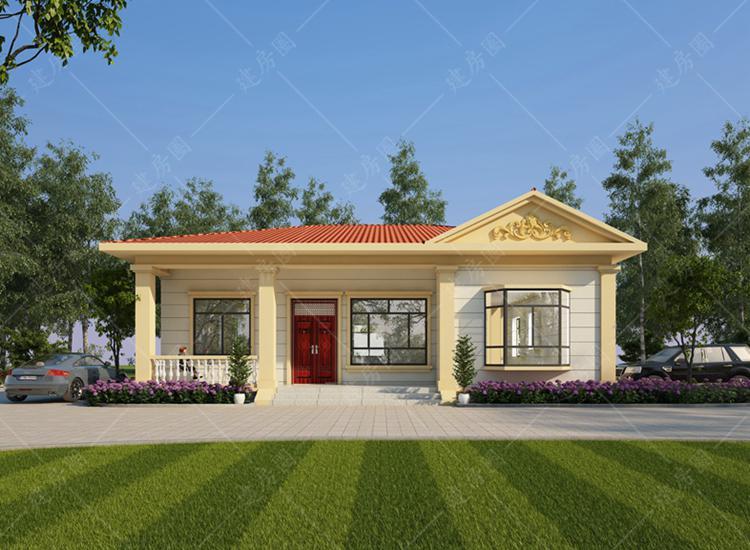 农村19万元一层小别墅设计图,好看又适用