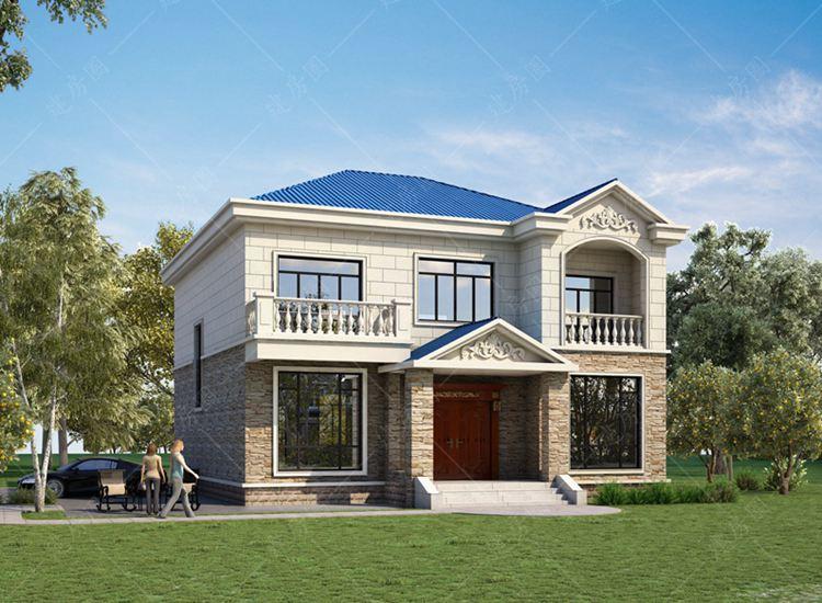 德阳中江二层农村自建房设计,外观经典,布局舒适