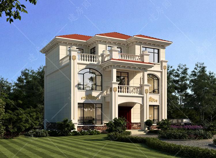 南充蓬安农村三层自建别墅设计,见过的都说好看